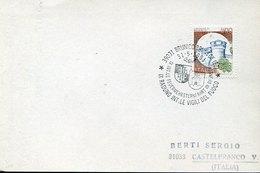 46135 Italia,  Cover With Special Postmarks Brunico 1991 , Pompieri, Feuerwehr,fireman,pompiers - Pompieri