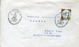 46136 Italia,  Cover With Special Postmarks Mantova 1991  , Pompieri, Feuerwehr,fireman,pompiers - Pompieri