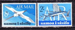 Samoa E Sisifo1966-Posta Aerea  Serie Completa   Nuova  MLLH - Groot-Brittannië (oude Kolonies En Protectoraten)