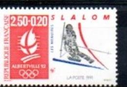 """France 1992 : Timbre N° 2740 Du Feuillet Y&T N° 14  """" Slalom """" - Frankreich"""