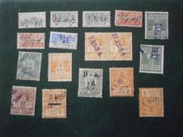 FRANCE ALSACE LORRAINE TIMBRE FISCAL SOCIAL SOCIAUX POSTAUX STAMP TAX LOT VRAC COLLECTION ELSASS LOTHRINGEN - Revenue Stamps