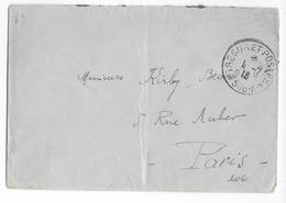 1916 - ARMEE D'ORIENT - ENVELOPPE FM Du SP 508-A à KORYTZA => PARIS - Storia Postale