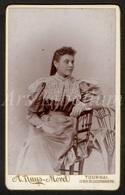 Photo-carte De Visite / CDV / Femme / Woman / Photographer / A. Ruys Morel / Tournai / Doornik - Anciennes (Av. 1900)