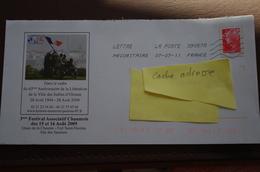 6-258 Entier Postal Enveloppe Prétimbrée Beaujard Sables D'Olonne Libération Guerre Lot G4S/09R012 - Entiers Postaux