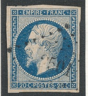 N°14 NUANCE ET OBLITERATION TIMBRE 1er CHOIX. - 1853-1860 Napoleone III