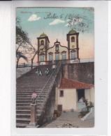 1914 CPA PORTUGAL- MADEIRA. IGREJA DO MONTE. CIRCULEE LE HAVRE PAQUEBOT  A BUENOS AIRES - BLEUP - Madeira