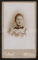 Photo-carte De Visite / CDV / Femme / Woman / Photographer / Colbert / Tournai / Doornik / 2 Scans - Anciennes (Av. 1900)