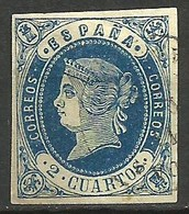España 57 O - 1850-68 Königreich: Isabella II.