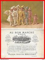 CHROMOS. Magasins Au Bon Marché. A. BOUCICAUT (Paris)  La Noce...H833 - Au Bon Marché