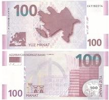 Azerbaijan - 100 Manat 2013 UNC Lemberg-Zp - Arzerbaiyán