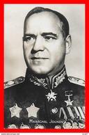 CPA MILITARIA. Guerre 1939-45.  Maréchal JOUKOV, Commande LE 1er Front De Russie Blanche...C01107 - War 1939-45