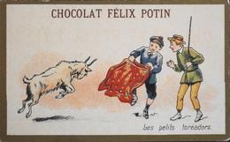 Chromos & Image Tour Doré > Chocolat > FELIX POTIN - Les Petits Toréadors - En TBE - Schokolade