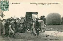 LANGRES (siège De ) = Manoeuvres De Forteresse 1906   BALLONS DE L'ARMEE D'ATTAQUE   817 - Langres