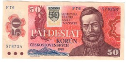 Slovakia 50 Korun 1993 Provisional Issue .J. - Slowakei