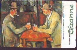 Télécarte JAPON * PEINTURE FRANCE (2110) CEZARE *  MUSEUM * ART * TK Gemälde  Phonecard Japan * KUNST - Painting