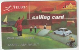 Canada :  Telécarte , Telus , Vélo , Voiture - Canada