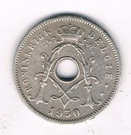 5 CENTIMES 1930 VL  BELGIE /5261/ - 1909-1934: Albert I