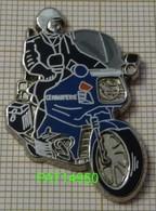 MOTO BMW MOTARD De La GENDARMERIE NATIONALE TENUE NOIRE En Version ZAMAC BALLARD Métallisé - Police