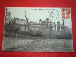 1910 PAVIE PRES D'AUCH CHATEAU DE LAVACAN ETAT BON - Autres Communes