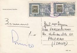 COSTA RICA  /  ITALIA - Card_ Cartolina Postale - Costa Rica