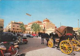 LIBYA - Benghazi - Piazza Municipio - Municipality Square - Automotive - Vespa - Libya