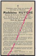En 1941 Bailleul (59) Madeleine HUYGUE Ep Louis Bacquaert Née En 1899 - Décès
