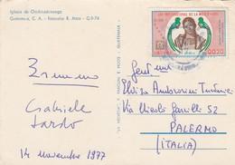 GUATEMALA  /  ITALIA - Card_ Cartolina Postale - Guatemala