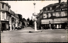 Cp Pont L Eveque Calvados, Place Du Calvaire - France