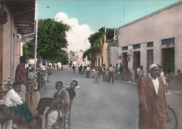 LIBYA - Derna - Ista Omar St. & Saint Lo Sq. - Ediz. Ris. Gazuani - Libya