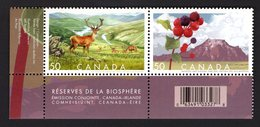 Canada 2005 R Serie Venado Hert National Park Hirsch Deer Cerf Animals Dieren Tiere Animaux олень Joint Issue Ireland - Game
