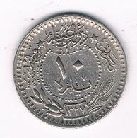 10 PARA 1327 AH TURKIJE /5280/ - Turquie