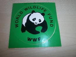 Autocollant Ancien   WWF - Vignettes Autocollantes