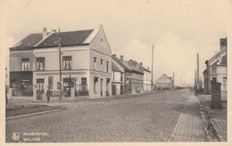 Raversyde (Raversijde) ,  Village ,( Statio Du Tram , Publicité Phenix + Ostende Hotel Osborne ) - Oostende