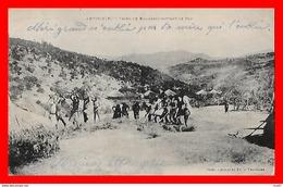 CPA ABYSSINIE (Ethiopie)   Tribu De Bambaras Battant Le Blé, Animé...CO1400 - Ethiopia