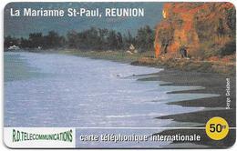 Reunion - Torc Telecom - La Marianne St-Paul - Remote Mem. 50₣, 1.000ex, Used - Reunion