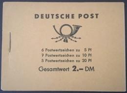 1960 Fünfjahrplan  Mi. MH 3 B 1 **) - [6] Democratic Republic