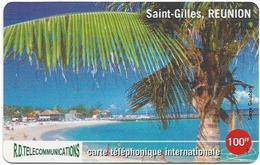Reunion - Torc Telecom - Saint-Gilles - Remote Mem. 100₣, 1.000ex, Used - Reunion