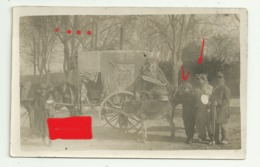 TULETTE Carte Photo 16 CARNAVAL 1927 Montreurs D'ours Singe Deguisement Tambourin Ane Photo BALLIEU VALREAS - France
