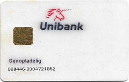 Denmark - Danmønt - Testkort Unibank 589446, G005C, Chip D9, Exp. 06.2002, Used - Denmark