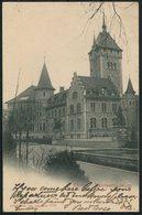 1901 Switzerland Zurich Landeamuseum Postcard. Zurich Ebertswil - Uznach - Cartas