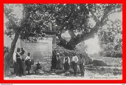 CPA AMBELOUZO (Grèce-Crète)  Devant La Fontaine, Animé ...CO1498 - Greece