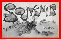 CPA CORFOU (Grèce)   Souvenir De Corfou ...CO1501 - Greece