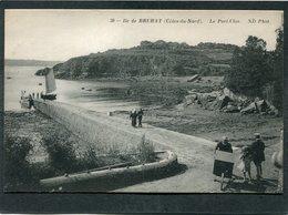 CPA - ILE DE BREHAT - Le Port Clos, Animé - Ile De Bréhat