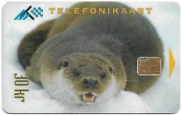 Estonia - Eesti Telefon - Animals In Wintertime - Seal - 12.1995, 30Kr, 35.000ex, Used - Estonia