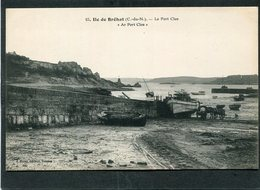 CPA - ILE DE BREHAT - Le Port Clos, Animé - Attelage - Ile De Bréhat