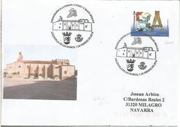 CALZADILLA DE LOS BARROS BADAJOZ CC CON MAT PRESENTACION 12 MESES 12 SELLOS - Iglesias Y Catedrales