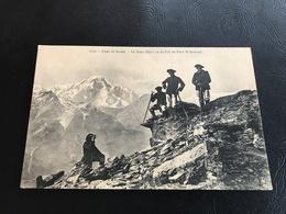 2729 - Alpes De Savoie - Le Mont Blanc Vu Du Col Du Petit St Bernard - 1912 - Manoeuvres