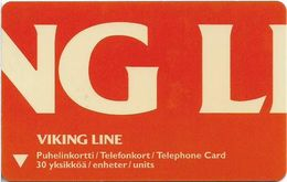 Finland - Turku Telephone (Turun) - Viking Line 6 Ms Amorella - Cn. 2031 - Exp. 12.2005, 5€, 1.500ex, Used - Finland