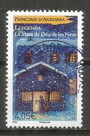 Légende De La Mère De Dieu Des Neiges, Un Timbre Oblitéré 2018, 1 ère Qualité, Haute Faciale Pour L. Recommandée - Used Stamps