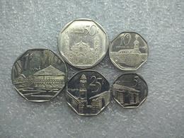 Cuba Set : 5 Centavos - 1 Peso - Cuba